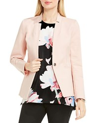 Vince Camuto One Button Split Lapel Blazer Coral Sand