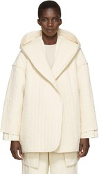 Lauren Manoogian Off White Kendo Coat
