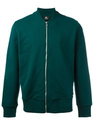 Paul Smith Ps By Bomber Cardigan Green