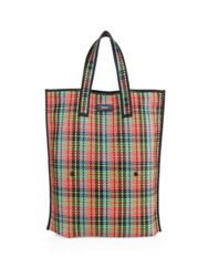 Paul Smith Patterned Woven Tote Multi