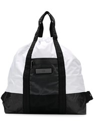 Adidas By Stella Mccartney Gym Logo Bag Black