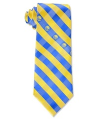 Eagles Wings Golden State Warriors Checked Tie Team Color