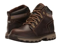 Caterpillar Ellie Soft Toe Dark Beige Women's Work Lace Up Boots Brown