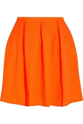 Opening Ceremony Ethan Neon Embossed Piqua Mini Skirt