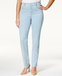Styleandco. Style Co. Plus Size Tummy Control Slim Leg Jeans Only At Macy's Sedona