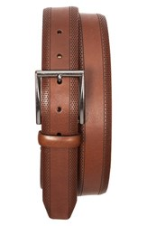 Men's Tommy Bahama Perforated Leather Belt
