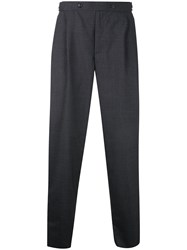 Kolor Front Pleat Tailored Trousers Grey