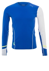 Gore Running Wear Xrun Long Sleeved Top Brilliant Blue White