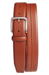 Cole Haan Pinched Seam Leather Belt Woodbury