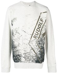 Puma Graphic Print Sweater Neutrals