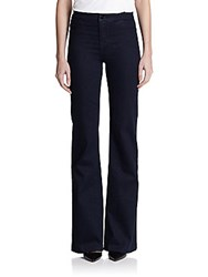 J Brand High Rise Tailored Flare Jeans Inkwell