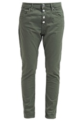 Replay Pilar Relaxed Fit Jeans Military Oliv