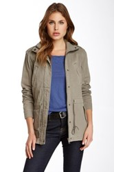 Michael Stars Military Jacket Gray