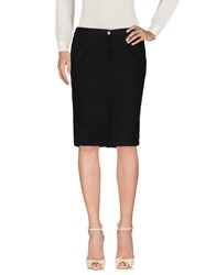 Baroni Knee Length Skirts Black
