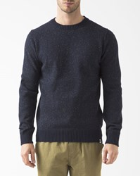 Element Speckled Navy Blue Kayden Jumper