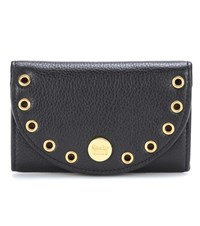 See By Chloe Kriss Leather Card Holder Black