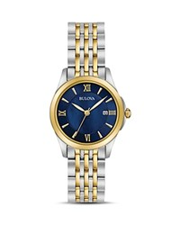 Bulova Modern Watch 27Mm Blue Gold