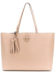 Tory Burch Mcgraw Tote Bag Nude And Neutrals