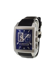 Zenith 'Port Royal Open' Analog Watch Stainless Steel