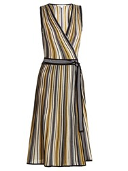 Diane Von Furstenberg Cadenza Dress Gold Multi