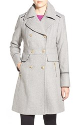 Women's Vince Camuto Wool Blend Double Breasted Officer's Coat