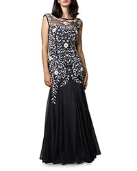 Phase Eight Sabine Embellished Gown Charcoal