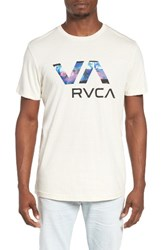 Rvca Men's Chopped Va Graphic T Shirt
