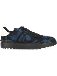 Valentino Garavani 'Camubutterfly' Sneakers Blue