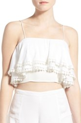 Lovers Friends 'Santorini' Camisole White