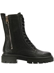 Kennel Schmenger And Lace Up Front Boots Black