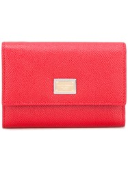 Dolce And Gabbana Dauphine Wallet Red