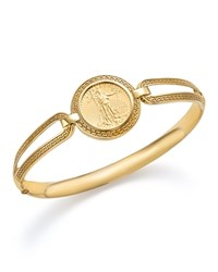 Bloomingdale's Coin Bangle Bracelet In 14K Yellow Gold 100 Exclusive