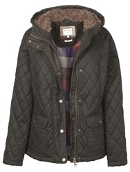Fat Face Grasmere Quilted Jacket Forest Green
