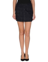 Y.A.S. Mini Skirts Dark Blue