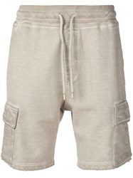 Dondup Drawstring Shorts Neutrals