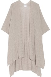 Madeleine Thompson Ribbed Knit Cashmere Wrap