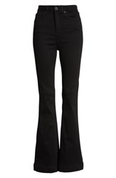 Bdg Urban Outfitters High Waist Flare Jeans Black