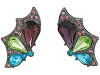 Betsey Johnson Butterfly Effect Wing Stud Earrings Multi Earring