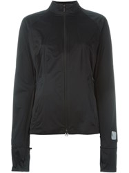 Y 3 Thumb Sleeves Hooded Jacket Black