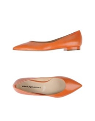 Pierluigibaleani Ballet Flats Orange