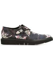 Marc Jacobs Floral Print Monk Shoes Multicolour
