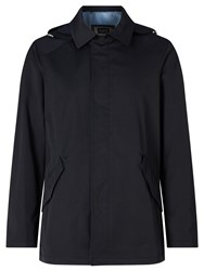 Bugatti Sportive Flexcity Water Repellent Raincoat Navy