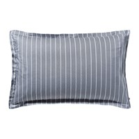 Tommy Hilfiger Sateen Stripe Pillowcase Navy 50X80cm