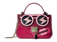 Furla Candy Gang Sugar Mini Crossbody Lampone Cross Body Handbags Red