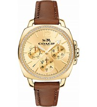 Coach 14502172 Boyfriend Leather Watch