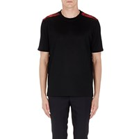 Lanvin Satin Layered T Shirt Black
