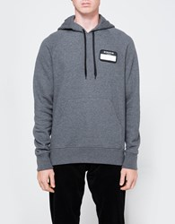 Ami Alexandre Mattiussi Oversized Hooded Sweatshirt Heather Grey