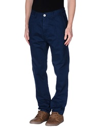 Humor Casual Pants Dark Blue