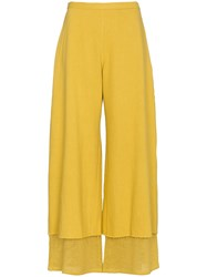 Simon Miller Yellow Yarnell Trousers Yellow And Orange