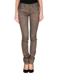 We Are Replay Denim Pants Khaki
